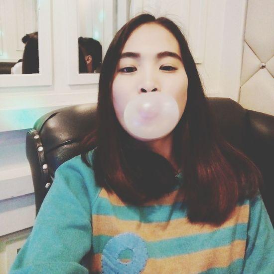 Sweet bubble gum ?