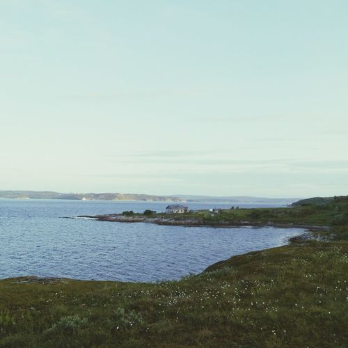 Small House on the small Cape  in the Gulf of Murmansk | Water_collection Landscape Enjoying The View Outdoors EyeEm Nature Lover Landscape_photography