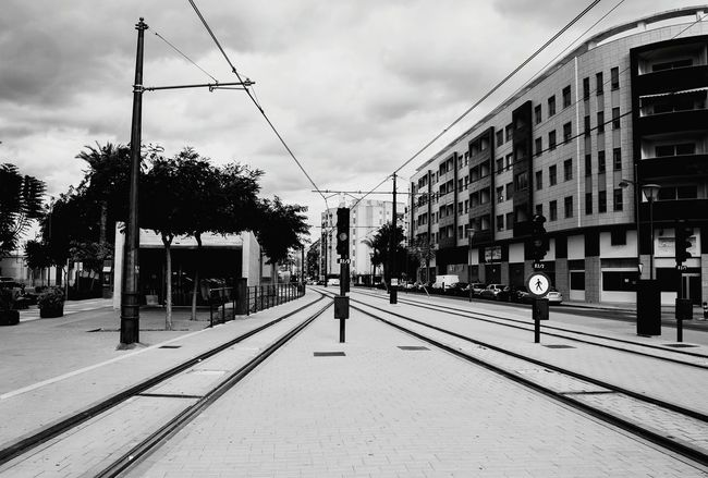 El Campello Tram Tramway Train Station Train Signals Signal Railstation Rails Perspectives Perspective Perspective Photography Urban Geometry Urban Landscape City Landscape City Life City Urban Urbam Photograpy Blackandwhite Black And White Black & White Blackandwhite Photography Black&white Black And White Photography