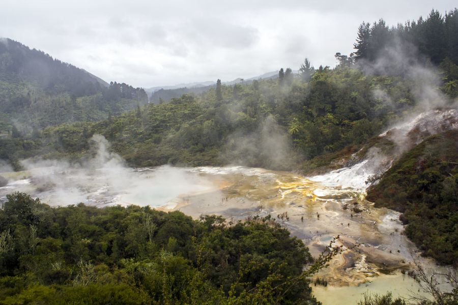 Active geothermal area landscape Geothermal Area Impressive Scenic Steam Travel Wanderlust Beauty In Nature Boiling Water Earthquake Environment Geological Formation Geology Geothermal  Geothermal Activity Heat Heat - Temperature Hidden Valley Hot Pools Hot Spring Landscape New Zealand Power In Nature Scenics - Nature Volcanic