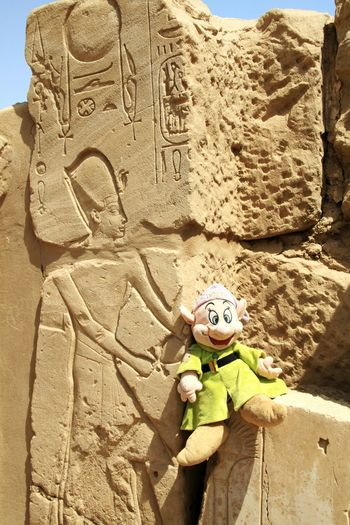 Disney Dopey Egypt Luxor_temple
