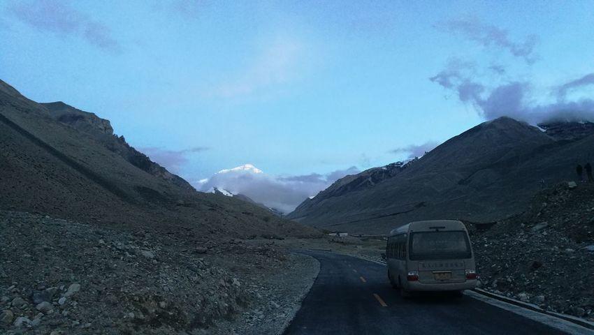 Mountain Water Snow Road Cold Temperature Glacier Galaxy 4x4 Sky Mountain Range