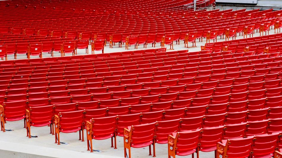 Jay Pritzker Pavilion Architecture Art&architecture Auditorium Chair Chicago Concert Concert Venue Day Empty In A Row In Line Jay Pritzker Pavilion Millenium Park No People Red Seat Theatre The City Light Minimalist Architecture Art Is Everywhere The Great Outdoors - 2018 EyeEm Awards