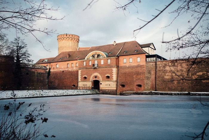 Morning Winter Travel TeamCanon Germany🇩🇪 Canon6d Architecture GERMANY🇩🇪DEUTSCHERLAND@ Ice Canon Frozen Castles Citadel Military History Historic Spandau