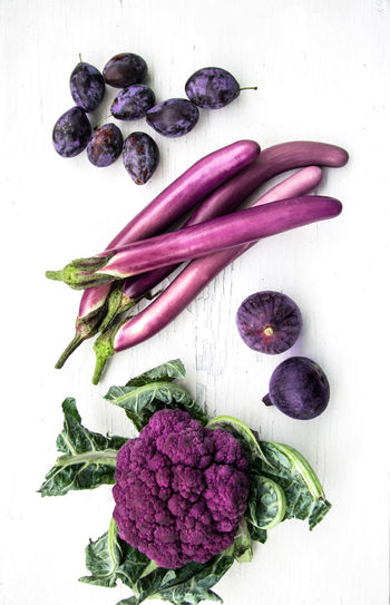Purple Veggies and Fruits Purple Food Vegetable Rainbow RainbowFood Happyfood Healthy Eating Harvest Thanksgiving Colorful Cabbage Eggplant Foodphotography