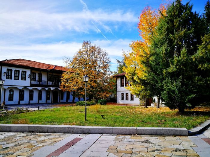 My home town <3 First Eyeem Photo Nature Tree Sunnyday☀️ Lovely Weather Historical Building LoveAutumnColors Bulgaria❤️