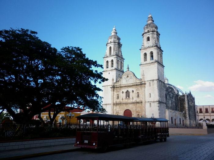 Cathedral Touristic Place Campeche Mexico Mexico_maravilloso Mexico Tour México History