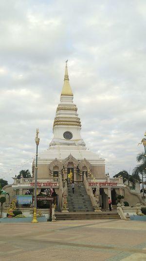 Muang, Nongkai / Thailand 2018: Lhanong Pagoda Pagoda Building Pagoda 😀 Buddist Temple City Ancient Spirituality Ancient Civilization Religion Sculpture History Pagoda Sky