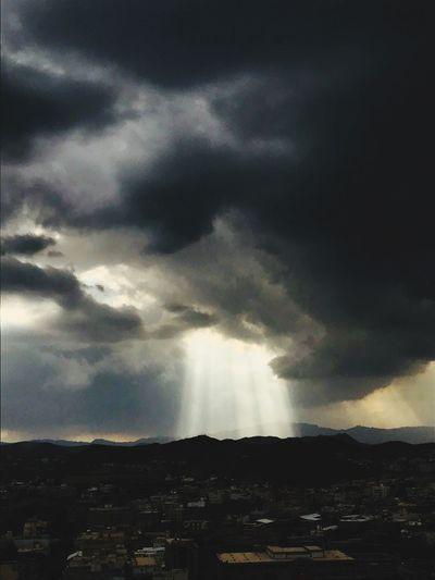 تصويري  الطائف Sky No People Cloud - Sky Nature Beauty In Nature Storm Cloud Cityscape Day