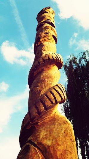 Wandelingetje Duiven Totempole