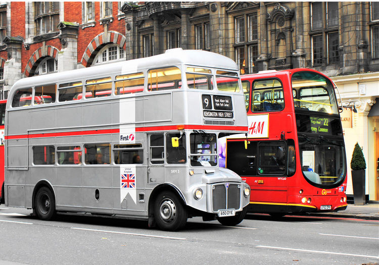 Buses City City Day Double-decker Bus Grey Grey Bus Land Vehicle London Bus London Buses London Transport Old And New Outdoors Public Transport Public Transportation Red Red Bus Red Bus London Red Buses Red Bus🚌 Side By Side Stationary Transport For London