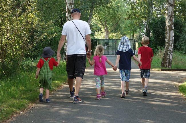 Allerhand Same Same But Different Child Girls Togetherness Walking Childhood Full Length Boys Friendship Family Press For Progress