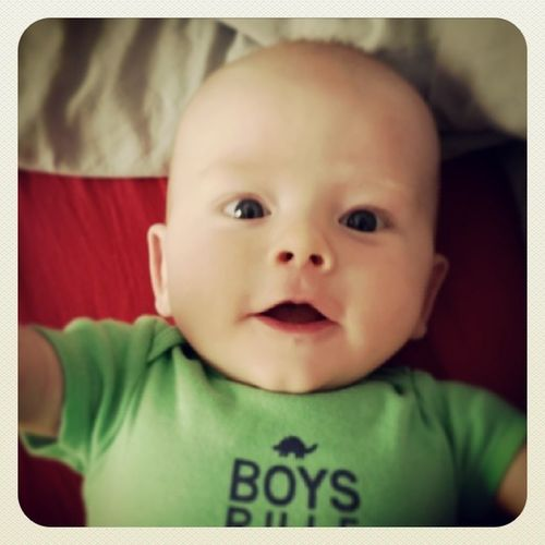 Love my morning smiles from this little guy Boysrule