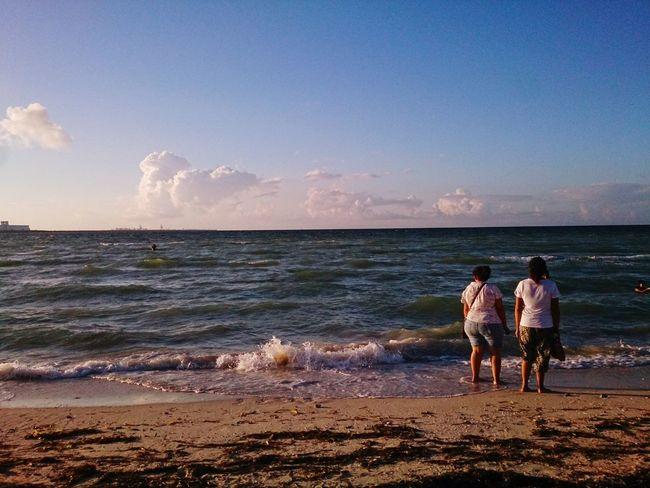 Horizon Xperia ZL Mobilephotography Outdoors Sky Landscape Beach Progreso Mérida, Yucatán Horizon Over Water Ocean Nature