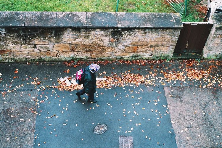 Brick Wall Day Outdoors Sidewalk Street Streetphotography Textured  Wall