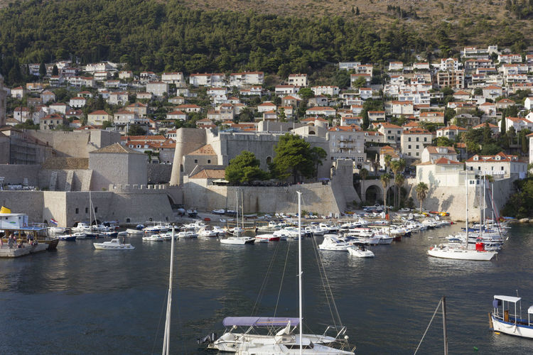 Dubrovnik Dubrovnik, Croatia Croatia Outdoors Fortified Wall Harbour Cityscape Architecture Nautical Vessel Water Building Exterior Transportation Built Structure City Mode Of Transportation Residential District Building Sea Moored Sailboat Day No People Harbor Nature Tree Yacht TOWNSCAPE Marina Luxury Bay