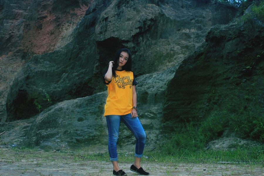 urang sunda Urangsunda Sunda Tshirt Garut Westjava INDONESIA Photography Young Adult Adult Adults Only People Looking At Camera Outdoors Adventure Nature