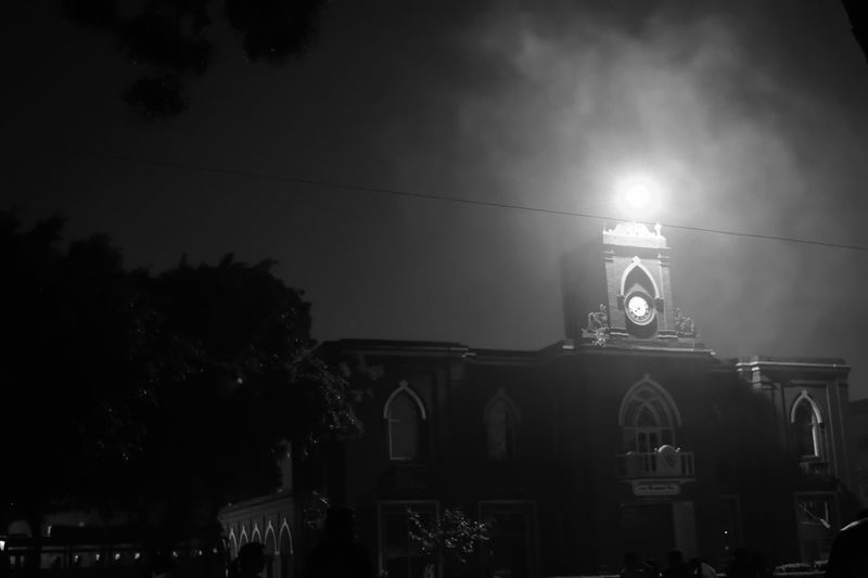 Heritage Vintage Assembly Hall Nightshot Monochrome