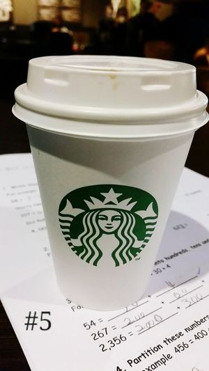 I've found a way around me giving up dairy during the week when i need my coffee hit to get me through marking Soy Milk Flatwhite Starbucks Marking Books Teacherproblems