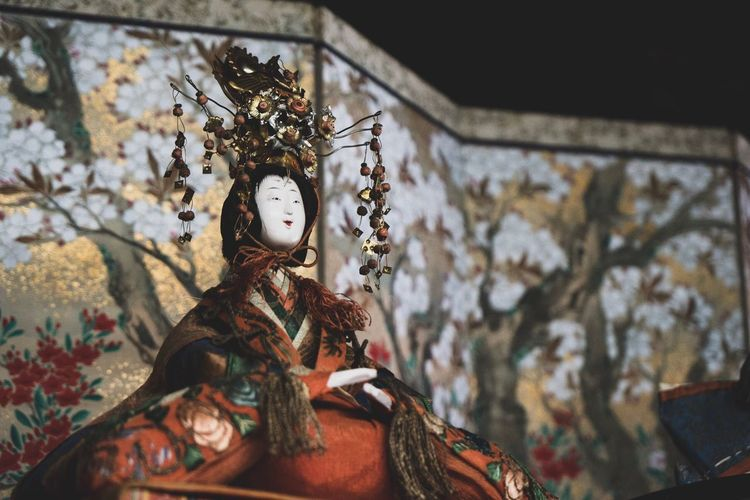 EyeEm Selects Indoors  One Person Day Close-up People Japan Hinamatsuri Antique Doll Carnival Celebration No People Japan Photography Japanese Culture Japanese Traditional
