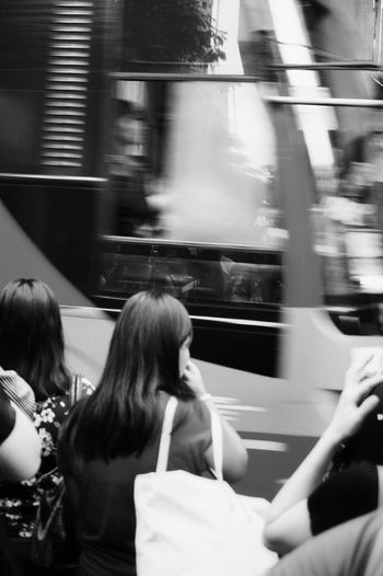 Street Photography Black And White People Pedestrian Road Bus