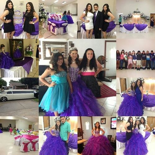 My quinceañera❤ I miss this day? Sunday will be a year since this day~`* TBT  61513