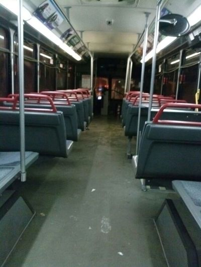 The Awkward Moment When You're Alone On The Bus