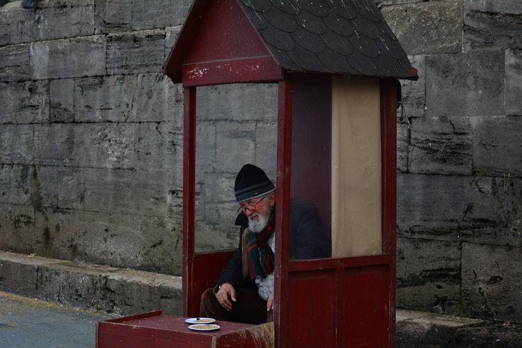 EyeEm Best Shots Nikon D5200 Birdseedseller Waiting ... Istanbul City Portrait