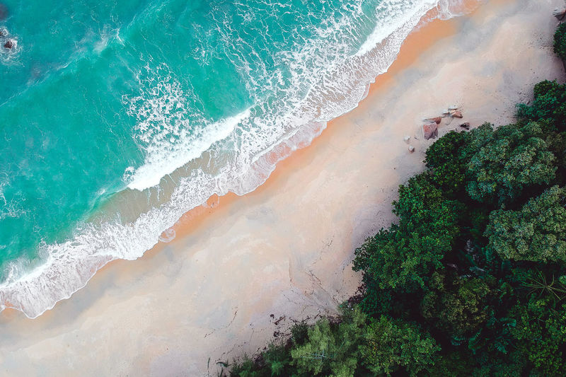 Dronephotography Droneshot Drone Moments Drone View Drone Dji Djispark Musical Instrument Green Color Green Drone  Dramatic Sky Drones Aeril Shot Aerial View Aerial Photography Aerial Landscape Tree Water Wave Sea Motion Power In Nature High Angle View Sky