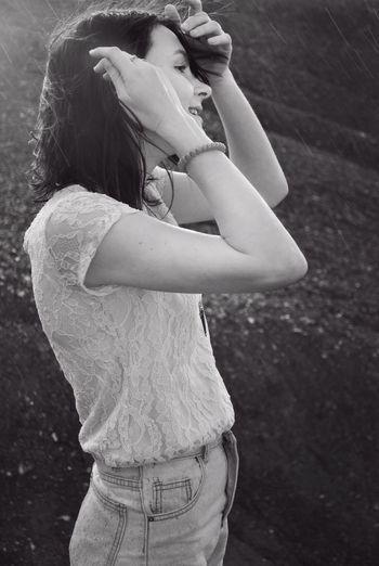 Monochrome Photography People Lady