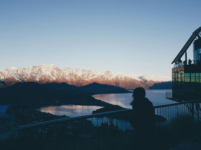 I taught my dear mother how to do some photography stuff 😍 Lost In The Landscape Silhouette Sky Leisure Activity Outdoors One Person Sunset People Cold Temperature Nature Newzealand Queenstown Nz Queenstown Nature S7Edgecamera S7edge S7 Edge Photography S7edgephotography Travel Destinations Lakes  Beauty In Nature Alps Snowymountain Snowymountains Snowymountaintops An Eye For Travel