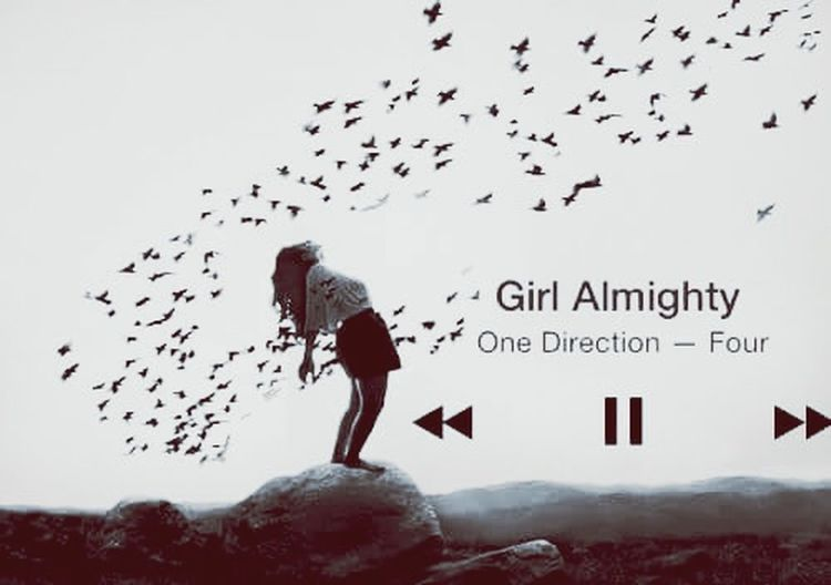 Let's have another toast to the Girl Almighty.... GirlAlmighty One Direction Four Album