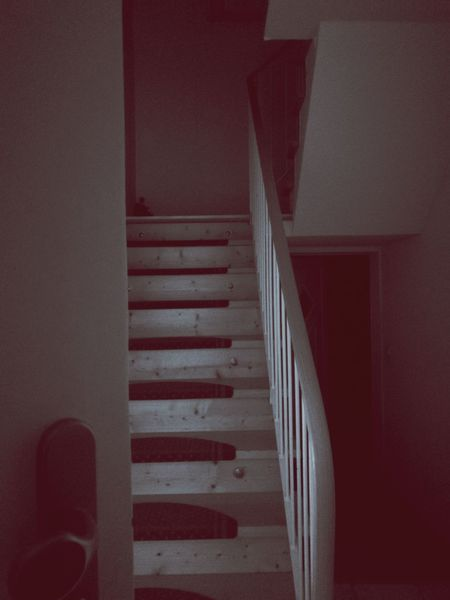 HuaweiP10 Leica Lenses Mobile Lione Absence Architecture Building Built Structure Direction Empty Entrance Home Interior Huaweiphotography Indoors  Ladder Leica Leica Love No People Pattern Phone Railing Red Staircase Steps And Staircases Wall - Building Feature Wood - Material