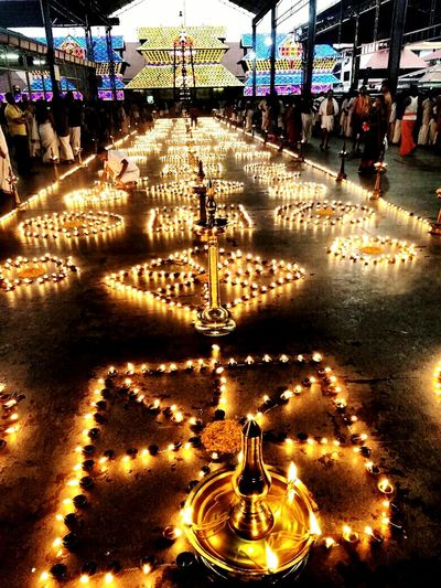 Lights And People Temple Temples And Shrines Indian Culture  Diyas Architecture Religion Glow Lamps And Lighting Religious Place Lord Krishna  Holy Place Gods Own Country