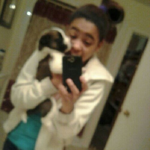 Me And Champ (:  #Nofliter