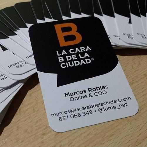 Tarjetas molonas recién estrenadas LacaraBdelaciudad LacaraB