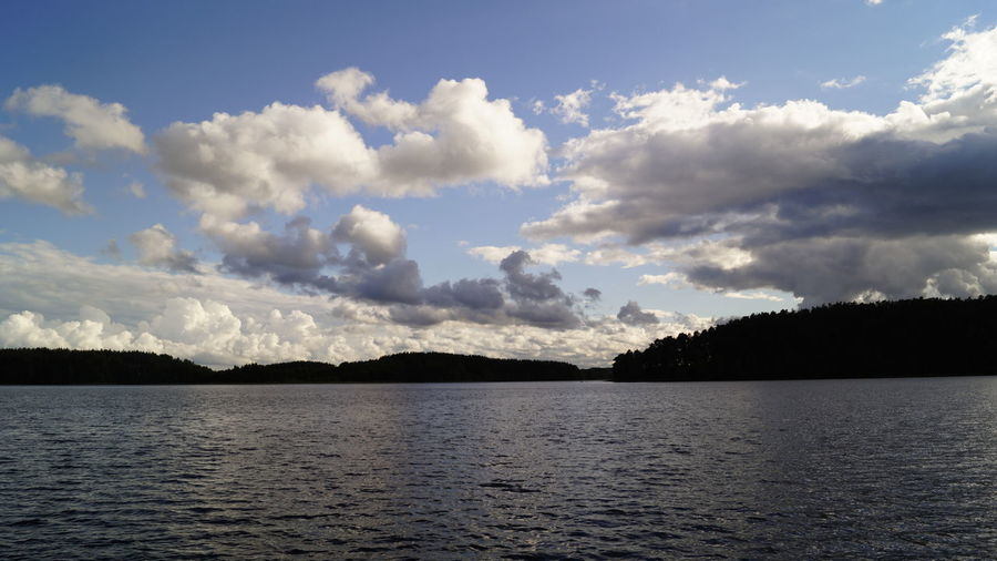 Beauty In Nature Cloud - Sky Day Lake Nature No People Outdoors Scenics Sky Tranquil Scene Tranquility Tree Water Waterfront