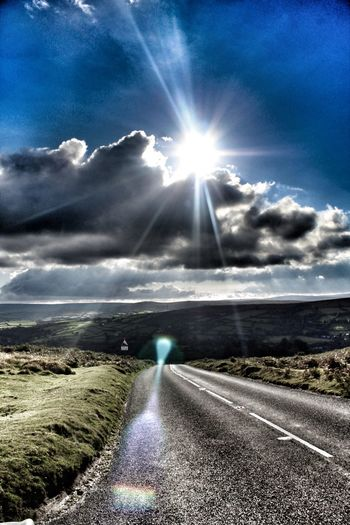 Lensflare Dartmoor Landscapes Widecome Protecting Where We Play In To The Sun Devon Landscape_photography