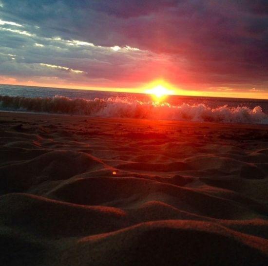 Grand Bend, Ontario Beachphotography Beach Photography Beach Sunset_collection Sunset Sunset #sun #clouds #skylovers #sky #nature #beautifulinnature #naturalbeauty #photography #landscape Sunsets Sand Summer2015 TheOOMission
