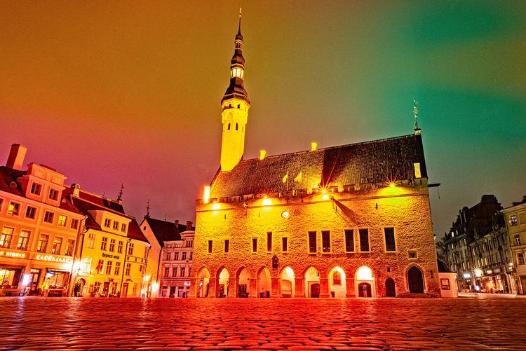 Night Estonia