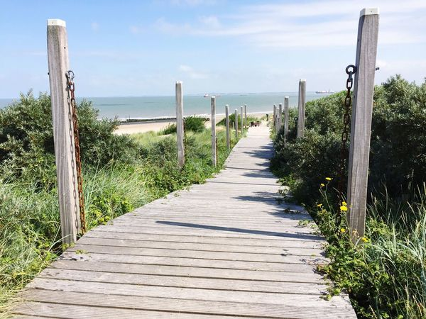 Beach Nieuwvliet Beach Walk