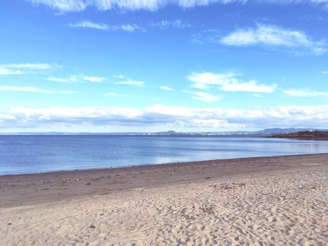 The view to Edinburgh from silver sands, aberdour. First Eyeem Photo Sommergefühle