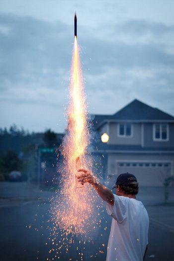 Bottestle] bottes Rocket Fireworks