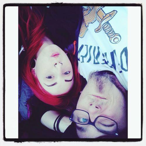Red Hair Love Piercing Happy