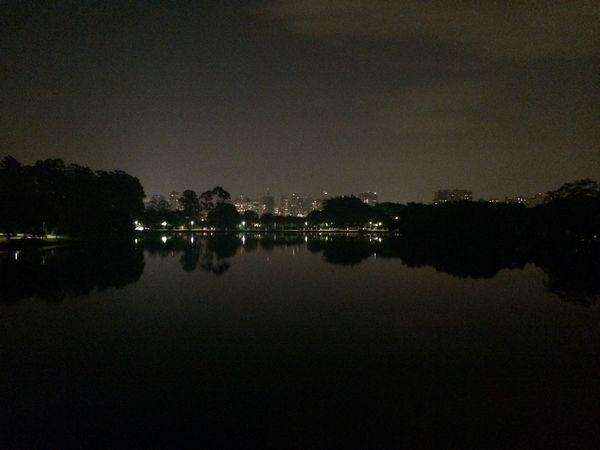 Ibirapuera Ibirapuerapark Pq. Ibirapuera Ibira Night Nofilter View Enjoying The View Sao Paulo - Brazil