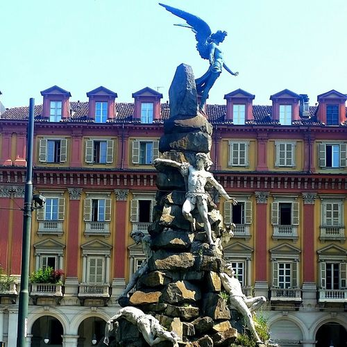 Torino ❤ PiazzaStatuto Lucifer Street Photography Italia Monument