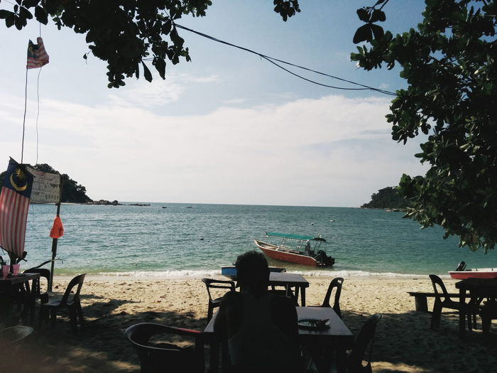 Beach Sand Scenery Mobilephotography Pangkor PulauPangkor Malaysia Sunny Day Holiday Relax