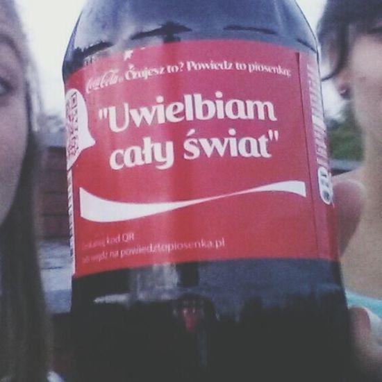 Coca Cola ✌ Holiday Uwielbiam Cały świat Hehe♥ #ostrowska #kopiec