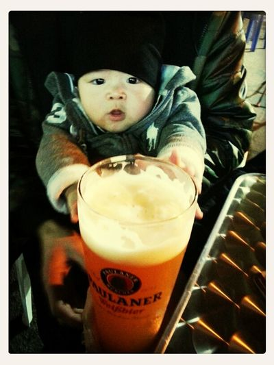 Baby Like Drinking