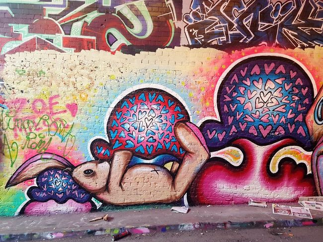 Street Art/Graffiti Art And Craft Multi Colored Pattern Full Frame Indoors  Backgrounds No People